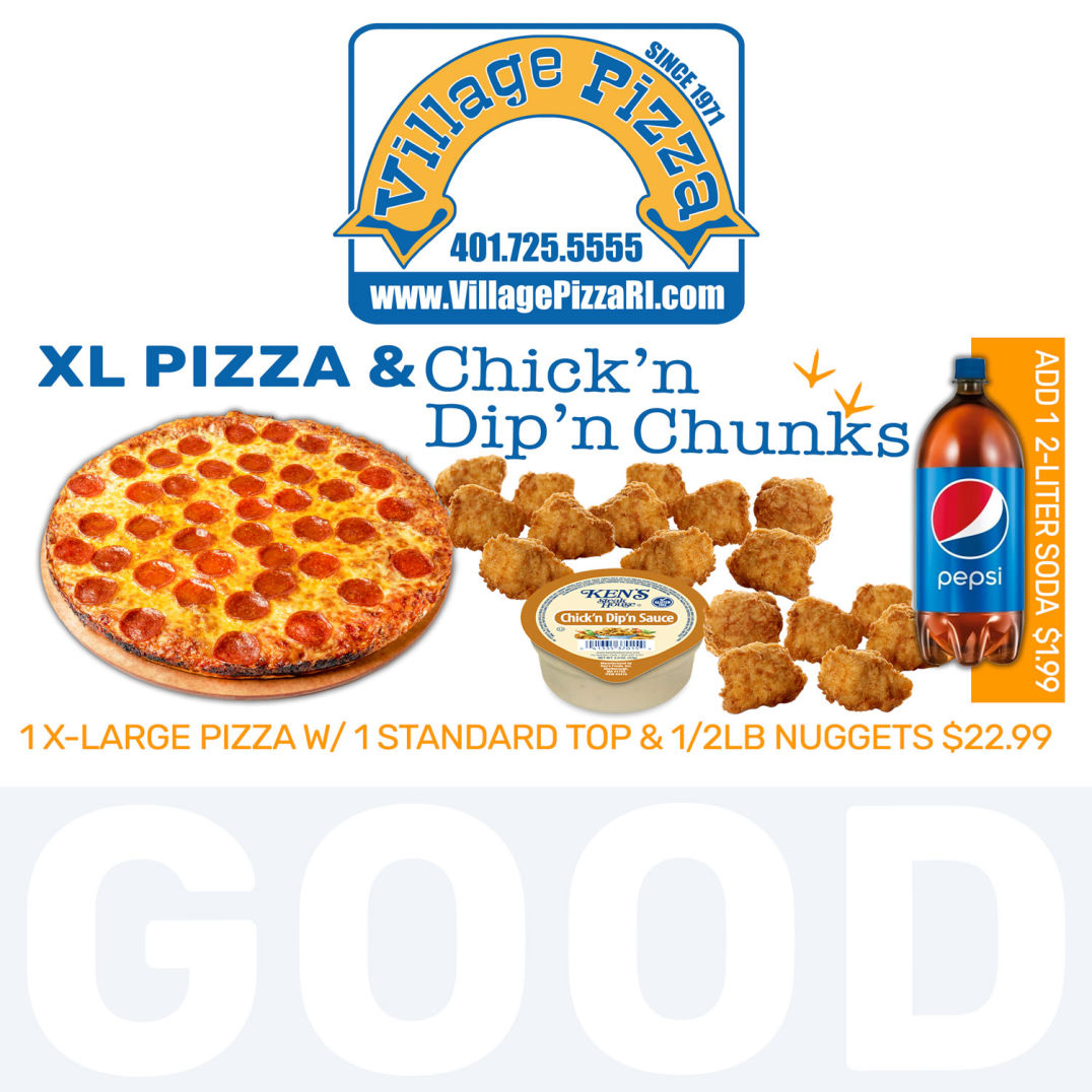 Pizza & Chicken Chunks