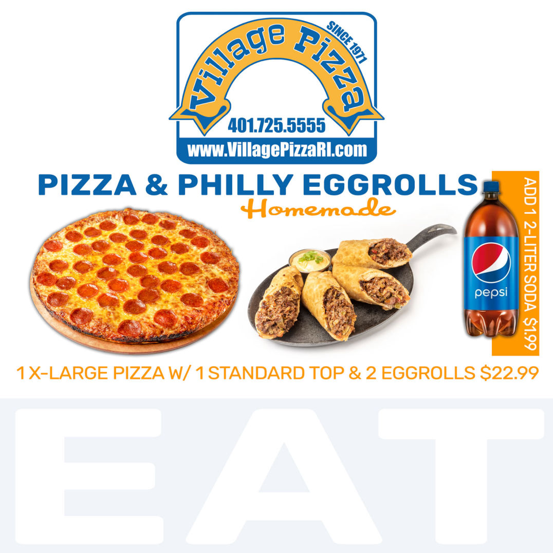 Pizza & Philly Cheesesteak Egg Rolls